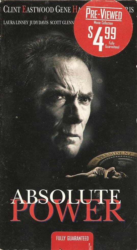 Absolute Power (1997)  Action, Crime, Drama - R : A career thief witnesses a horrific crime involving the U.S. President.