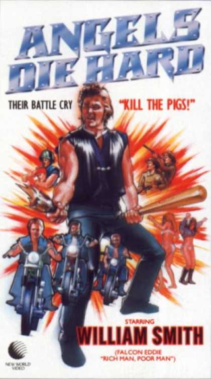 Angels Die Hard (1970) Action, Drama - R : Gang of bikers try to save people in a mining disaster.