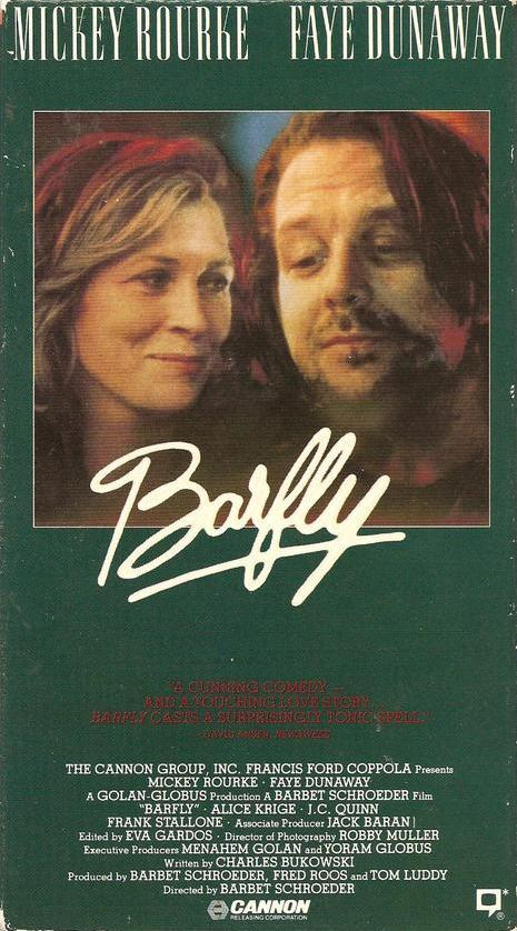Barfly (1987) Comedy, Drama, Romance - R : Henry Chinaski never cared for the American dream, the thought of needing to become 'something' and fit into the system disgusts him. He believes that life is free and yours to live like you see fit, and if that in some cases involves copious amounts of whiskey then so be it. Henry spends his days drinking and listening to the radio, and he spends his nights drinking and fighting against Eddy who he thinks personifies shallowness and shameless self promoting.