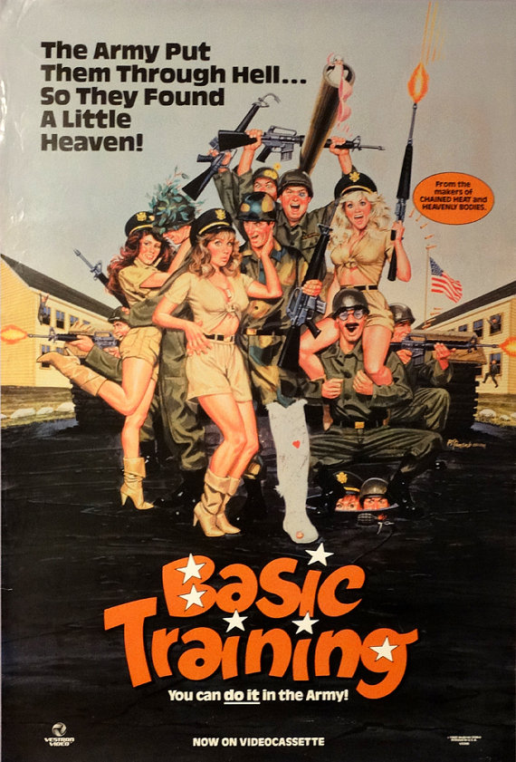 Basic Training (1985) Comedy , Sex - R : A buxom beauty (Ann Dusenberry) shows up Pentagon officials by locating a Soviet base at the North Pole.