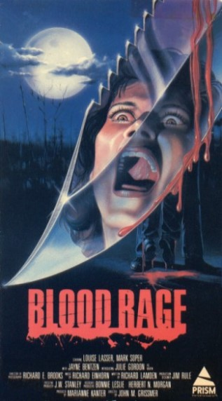 87 06 00 Blood Rage (1987) * R - Horror / Man is blamed for murders actually committed by his evil twin.