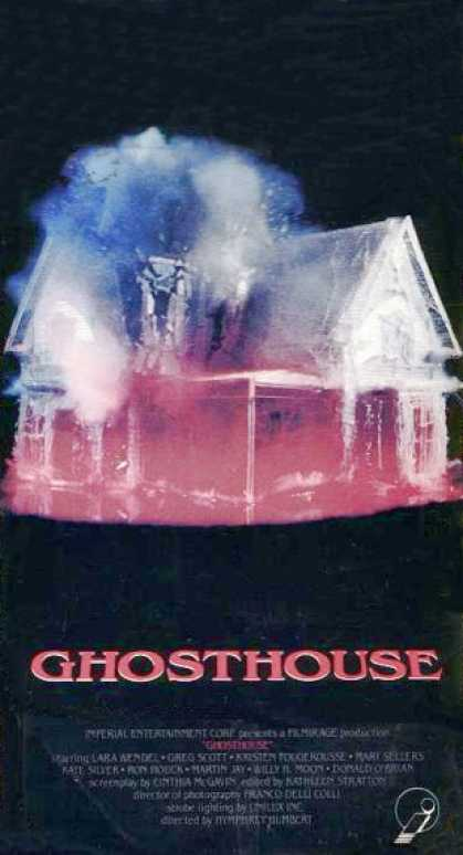 Ghosthouse (1988) Horror , Thriller - R : Visions of a deceased girl and her doll bring doom to the visitors of a deserted house.