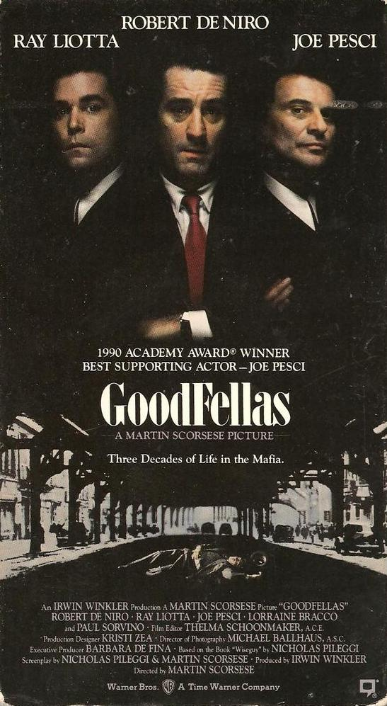 Goodfellas (1990) Biography, Crime, Drama - R : Henry Hill and his friends work their way up through the mob hierarchy.