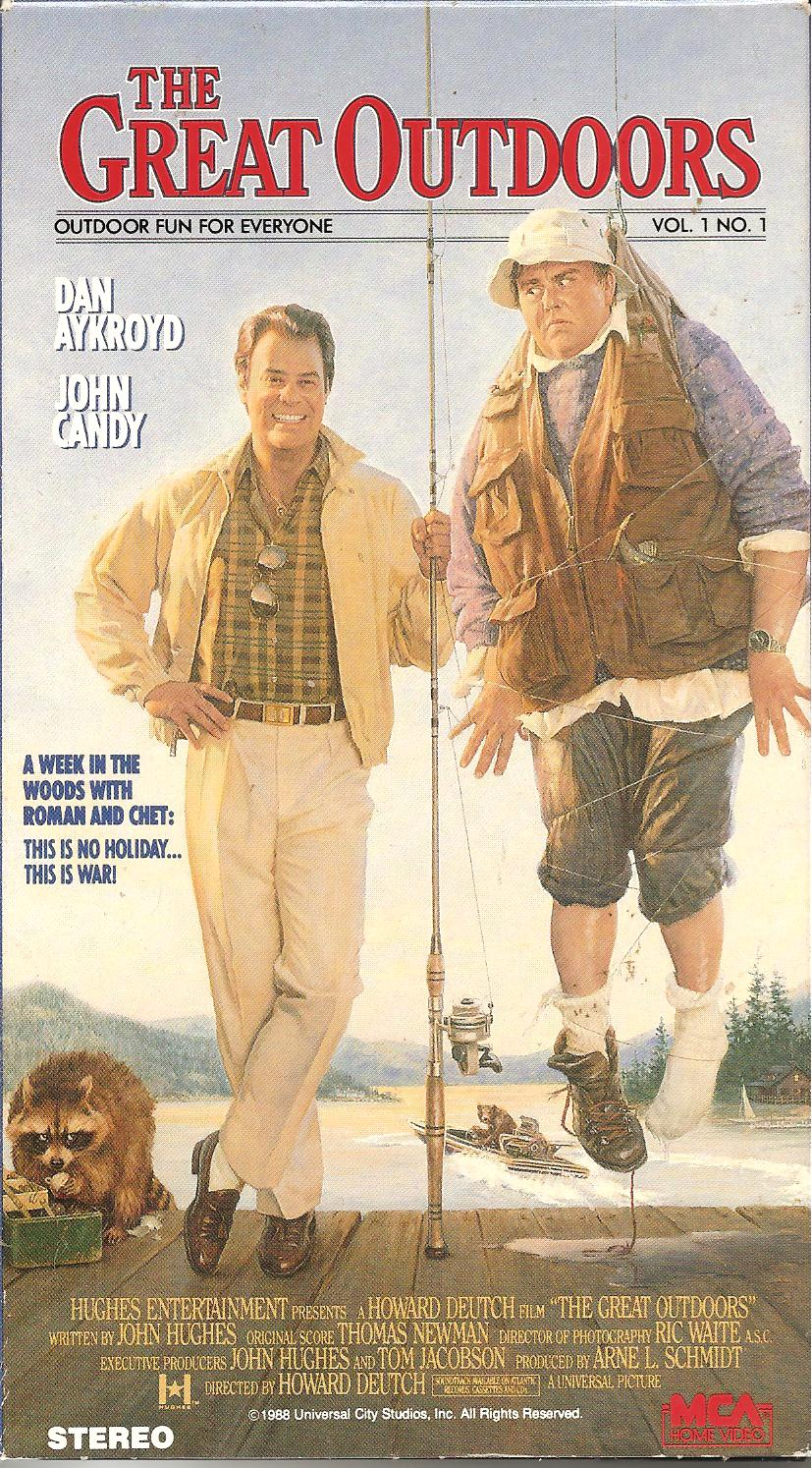 The Great Outdoors (1988) Comedy - PG : A Chicago man's hope for a peaceful family vacation in the woods is shattered when the annoying in-laws drop in.