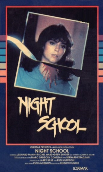 Night School (1981) Horror, Mystery - R : Who's been decapitating the innocent girls at a local night school? The police are baffled.