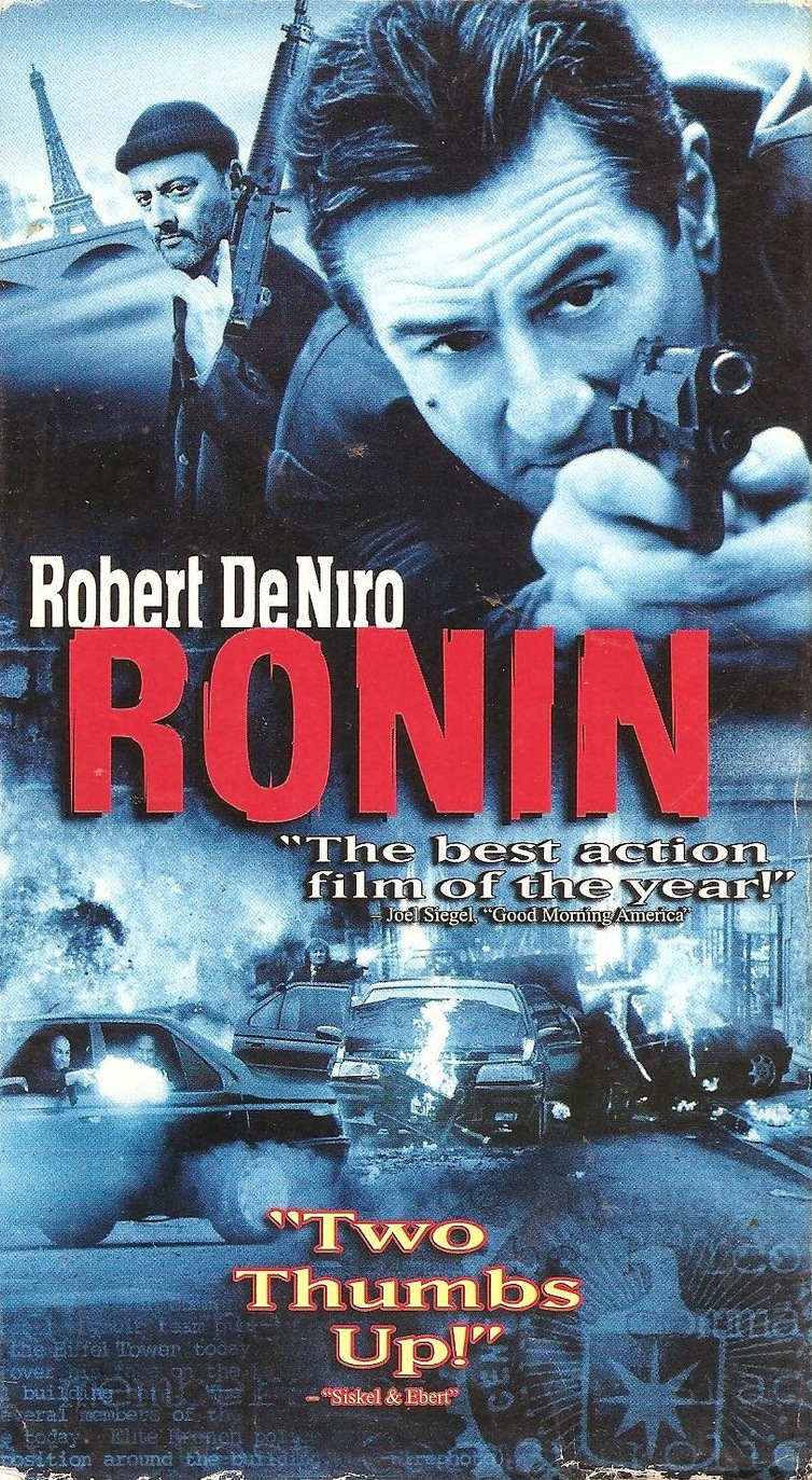 Ronin (1998)  Action, Adventure, Crime - R : A freelancing former US intelligence agent tries to track down a mysterious package that is wanted by both the Irish and the Russians.