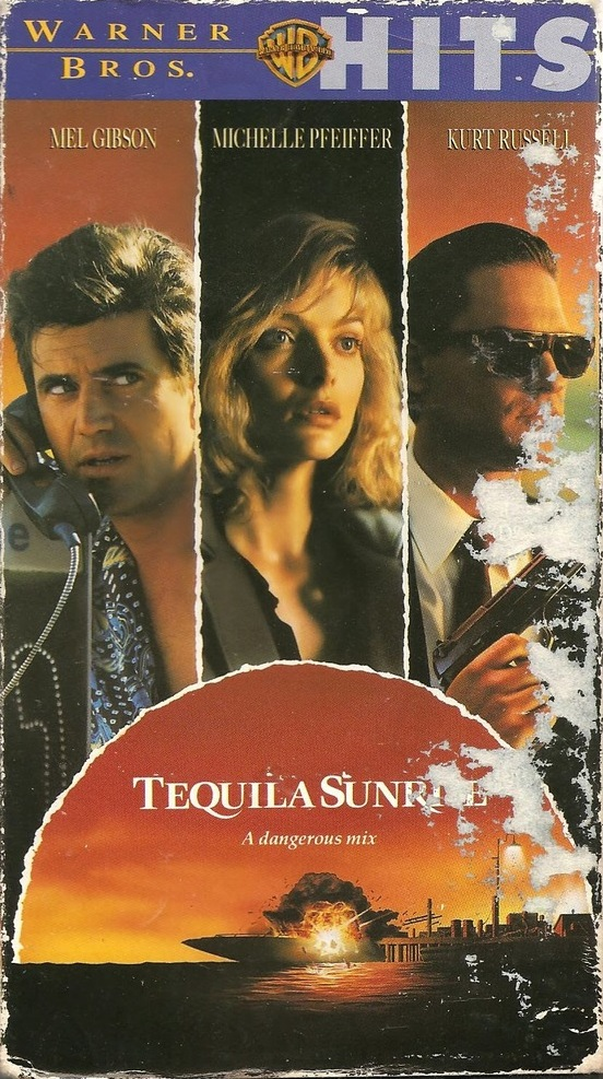 Tequila Sunrise (1988)  Crime, Drama, Romance - R :  A beautiful restauranteur becomes involved in a romantic triangle with two old friends: one a police officer, and the other an ex-drug dealer.