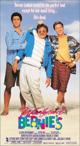 Weekend at Bernie's (1989) Comedy  -  5 July 1989 , A pair of losers try to pretend that their murdered employer is really alive, but the murderer is out to